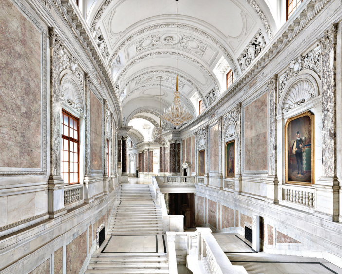 Massimo Listri Kunsthistorisches Museum I, Vienna, 2014 Archival lambda color photograph, 70 3/4 x 88 1/2 in. Edition of 5